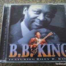 CDs de Música: CD -- B. B. KING -- FEATURING RILEY B. KING --. Lote 180167736