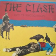 CDs de Música: THE CLASH GIVE EM ENOUGH ROPE CD SIMIL VINILO EDITION. Lote 180168670