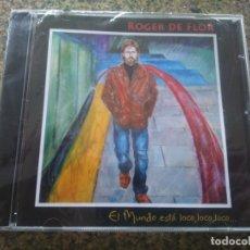 CDs de Música: CD -- ROGER DE FLOR -- EL MUNDO ESTA LOCO, LOCO, LOCO -- PRECINTADO --. Lote 180168683