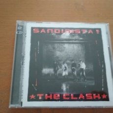 CDs de Música: THE CLASH SANDINISTA 2XCDS LIBRETO POSTER. Lote 180169396