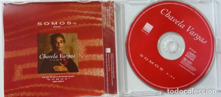 CDs de Música: CHAVELA VARGAS // SOMOS // 1995 // CD SINGLE - Foto 2 - 180171638