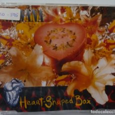CDs de Música: NIRVANA // HEART-SHAPED BOX // 1993. Lote 180171697