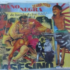 CDs de Música: MANO NEGRA // SEÑOR MATANZA // CD SINGLE. Lote 180171856