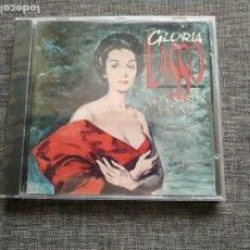 CDs de Música: CD GLORIA LASSO - CON SABOR LATINO ORFEON - 1994 - SPAIN - SEALED - NEW. Lote 180174673