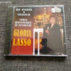 CDs de Música: CD GLORIA LASSO - DE PARIS A MEXICO - MON HISTOIRE D´AMOUR - SEALED - NEW. Lote 180175180