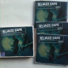 CDs de Música: MASTERCUTS JAZZ CAFÉ 3 CDS SELECCION DE VARIOS ARTISTAS AÑO 2006. Lote 180182816