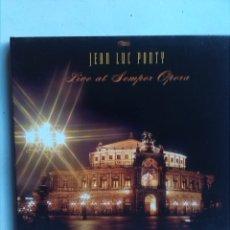 CDs de Música: JEAN LUC PONTY LIVE AT SEMPER OPERA. Lote 180183782