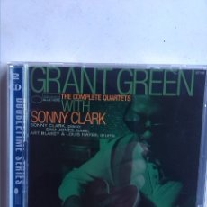 CDs de Música: GRANT GREEN THE COMPLETE QUARTETS WITH SONNY CLARKE 2CDS. Lote 180186483