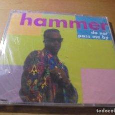 CDs de Música: RAR MAXI CD. HAMMER. DO NOT PASS ME BY. 4 TRACKS. SEALED. MINT. Lote 180216508