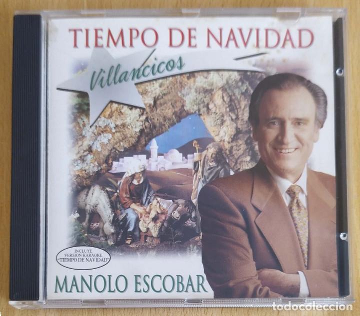 MANOLO ESCOBAR (TIEMPO DE NAVIDAD) CD 1995 (Música - CD's Flamenco, Canción española y Cuplé)