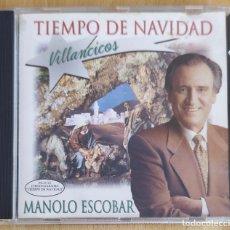 CDs de Música: MANOLO ESCOBAR (TIEMPO DE NAVIDAD) CD 1995 . Lote 180226585