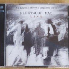 CDs de Música: FLEETWOOD MAC (LIVE) 2 CD'S 2000. Lote 180228116