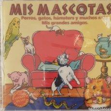 CDs de Música: MIS MASCOTAS CANCIONES DE MIS GRANDES AMIGOS, PERROS, GATOS, HAMSTER Y MUCHOS MAS. Lote 180230515