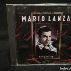 CDs de Música: CD - A PORTRAIT OF MARIO LANZA. Lote 180232942