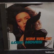 CDs de Música: CD - KIM WILDE - LOVE MOVES. Lote 180233016