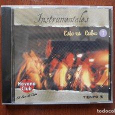 CDs de Música: INSTRUMENTALES- ESTO ES CUBA- CD HABANA CLUB NUEVO PRECINTADO. Lote 180238318
