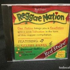 CDs de Música: CD - CERVEZA RED STRIPE - REGGAE NATION. Lote 180241177