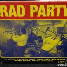 CDs de Música: TRIPLE CD - TRAD PARTY - THE ULTIMATE BRITISH TRADITIONAL JAZZ COLLECTION (FUNDA DE CARTON GRUESA). Lote 180241345