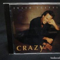CDs de Música: CD - JULIO IGLESIAS - CRAZY. Lote 180241426