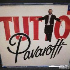 CDs de Música: CD - TUTTO PAVAROTTI - SONGS AND ARIAS (CAJA GRUESA). Lote 180242047