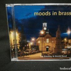 CDs de Música: CD - MOODS IN BRASS - THE BRACKLEY AND DISTRICT BAND. Lote 180242177