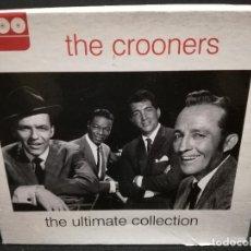 CDs de Música: CUADRUPLE CD - THE CROONERS - THE ULTIMATE COLLECTION (FUNDA DE CARTON GRUESA). Lote 180242578