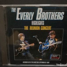 CDs de Música: CD - THE EVERLY BROTHERS - THE REUNION CONCERT. Lote 180242826