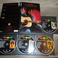 CDs de Música: BOB MARLEY - SONGS OF FREEDOM (4 CD + LIBRETO). Lote 180246490