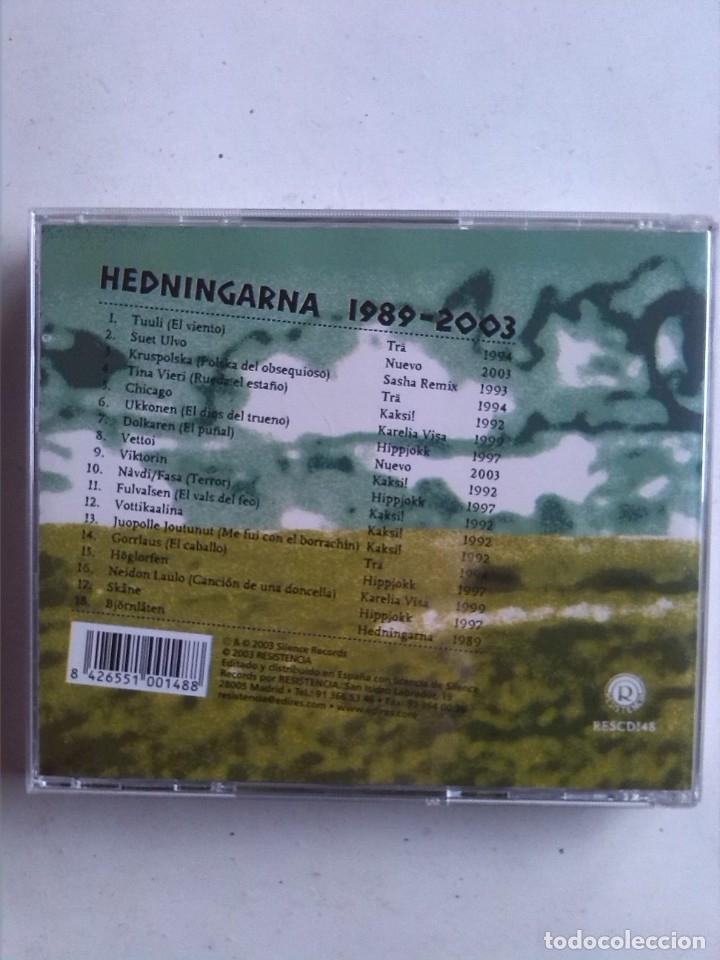 CDs de Música: HEDNINGARNA 1989-2003 - Foto 2 - 180251071