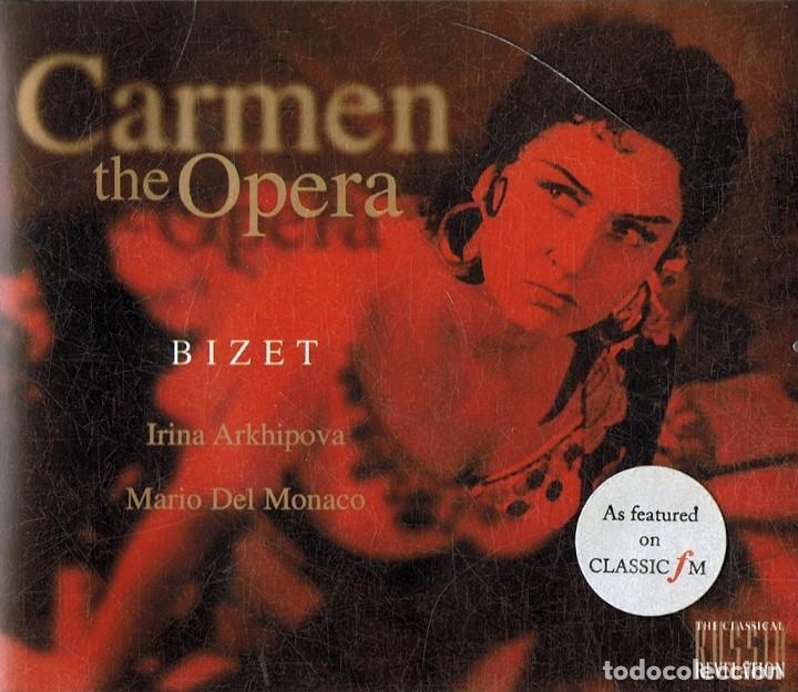 BIZET CARMEN THE OPERA (CD) (Música - CD's Clásica, Ópera, Zarzuela y Marchas)