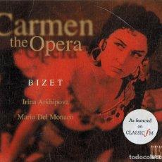 CDs de Música: BIZET CARMEN THE OPERA (CD). Lote 180252515
