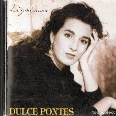 CDs de Música: DULCE PONTES LÁGRIMAS . Lote 180253113