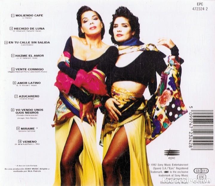 CDs de Música: AZUCAR MORENO OJOS NEGROS - Foto 2 - 180253962