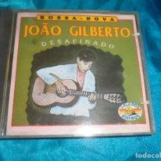 CDs de Música: JOAO GILBERTO. DESAFINADO. SALUDOS AMIGOS, 1992. (#). Lote 180257547