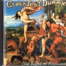 CDs de Música: CRASH TEST DUMMIES GOD SHUFFED HIS FEET . Lote 180258033