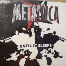 CDs de Música: METALLICA UNTIL IT SLEEPS CD PART 1 TRES TRACKS. Lote 180260658