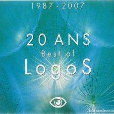 CDs de Música: 1987 - 2007 20 ANS BEST OF LOGOS . Lote 180260842