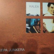 CDs de Música: KEPA JUNKERA KALEA 2XCDS ESTUCHE. Lote 180261398