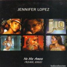 CDs de Música: JENNIFER LOPEZ - NO ME AMES REMIX 2002 CD SINGLE PROMO 2 TEMAS . Lote 180263381