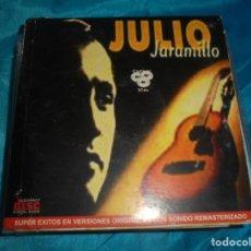 CDs de Música: JULIO JARAMILLO, EL RUISEÑOR DE AMERICA. LA HISTORIA DE SU VIDA. 2 CD´S + DVD.. Lote 180263448