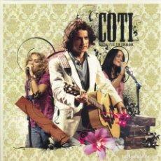CDs de Música: COTI - NADA FUE UN ERROR CD SINGLE 1 TEMA 2005 PROMO . Lote 180263468