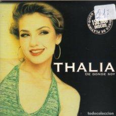 CDs de Música: THALIA - DE DONDE SOY CD SINGLE 1 TEMA PROMO 1998 SPAIN RARO. Lote 180263842