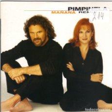 CDs de Música: PIMPINELA - MAÑANA REMIX CD SINGLE 1 TEMA PROMO 1998. Lote 180263898