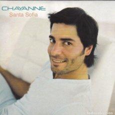 CDs de Música: CHAYANNE - SANTA SOFIA CD SINGLE 1 TEMA 2003. Lote 180263972