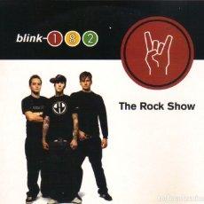 CDs de Música: BLINK 182 -THE ROCK SHOW CD SINGLE 2 TEMAS 2001. Lote 180264036