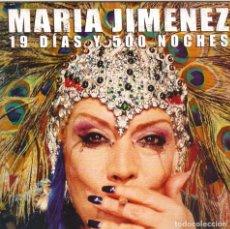 CDs de Música: MARIA JIMENEZ - 19 DIAS Y 500 NOCHES CD SINGLE 1 TEMA PROMO 2002. Lote 180264362