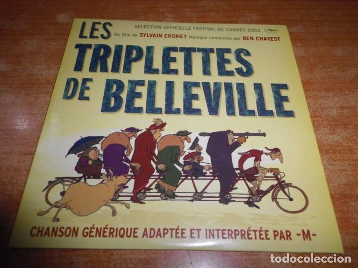 LES TRIPLETTES DE BELLEVILLE M BELLEVILLE RENDEZ-VOUS BANDA SONORA CD SINGLE PROMO 2003 2 TEMAS (Música - CD's Bandas Sonoras)