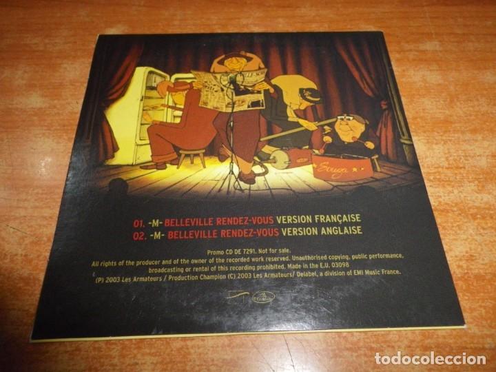 CDs de Música: LES TRIPLETTES DE BELLEVILLE M Belleville rendez-vous BANDA SONORA CD SINGLE PROMO 2003 2 TEMAS - Foto 2 - 180265560