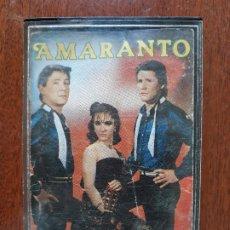 CDs de Música: AMARANTO- CASETE IBERSON 1985. Lote 180270180