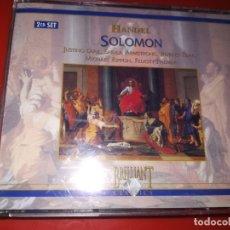 CDs de Música: HÄNDEL, GEORG FRIEDRICH (1685-1759) - SOLOMON / ENGLISH CHAMBER ORCHESTRA, JOHANNES SOMARY. Lote 180271727